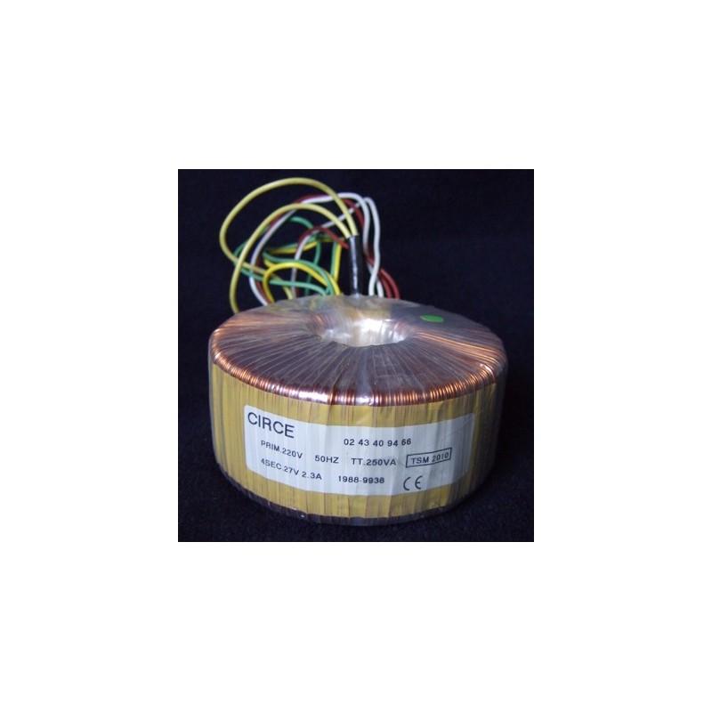 Transformateur torique 4x27volts - 2.2Amp