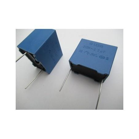 MKP X2  2.2µF  310V AC