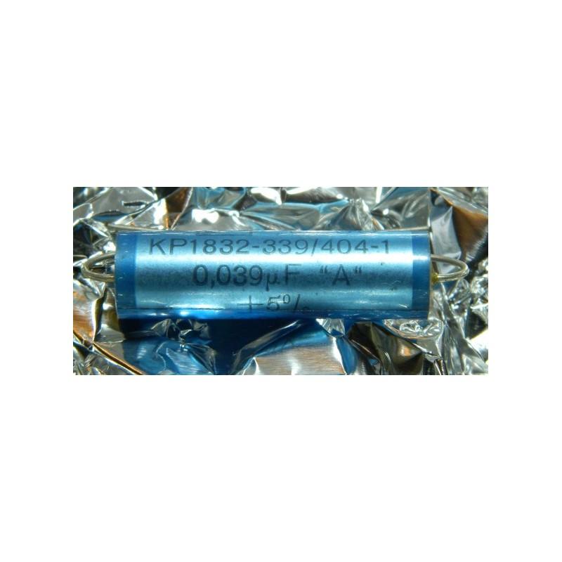 0.039µF 400V +/-5%  ERO MKP