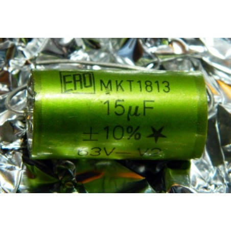15µF 63V +/-10% ERO MKT