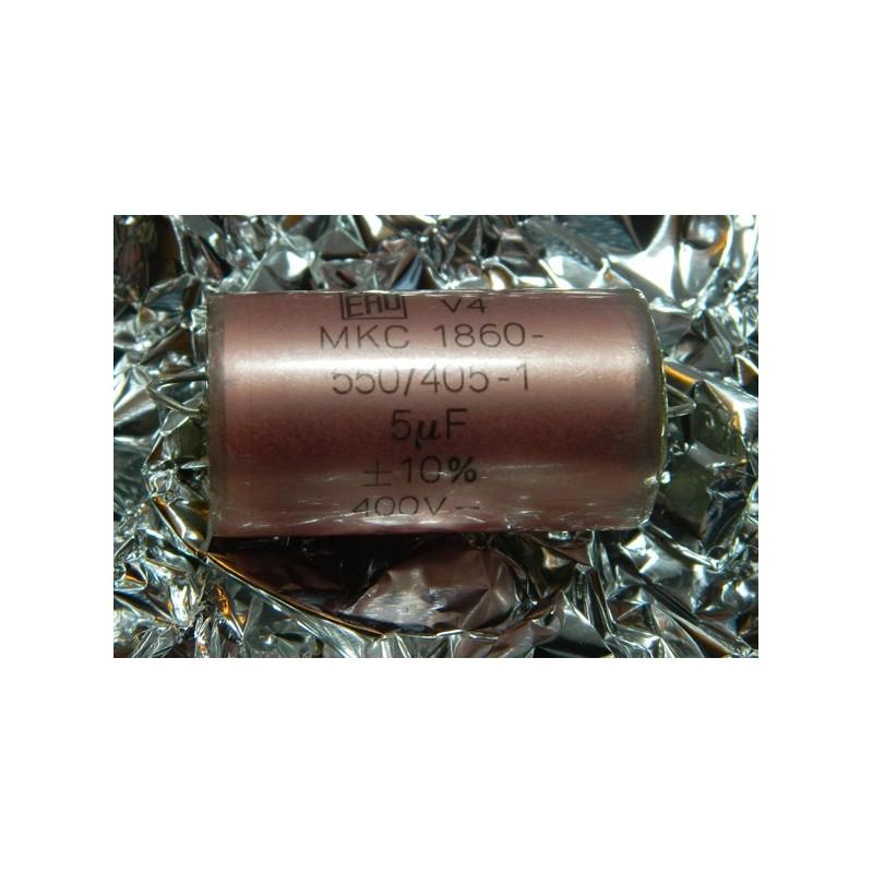 5µF 400V +/- 10% MKC