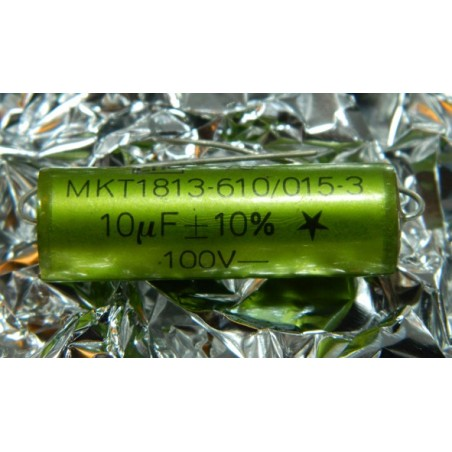 10µF 100V +/-10% ERO MKT