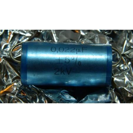 0.022µF 1600V +/-5% ERO MKP