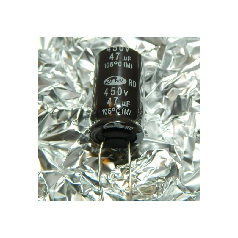 47µF 450V 105°