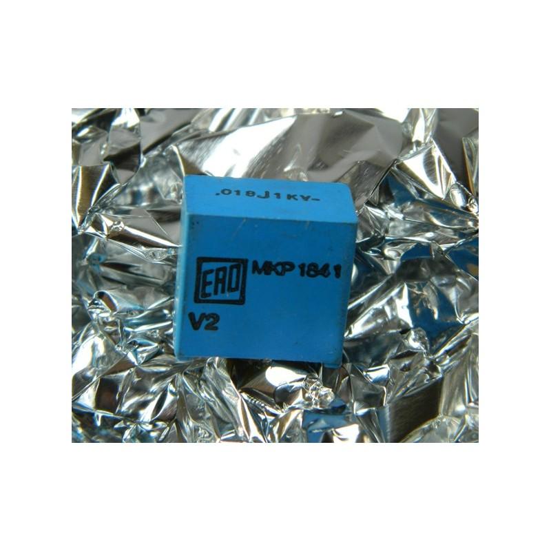 0.018µF 1000V +/-2% ERO MKP