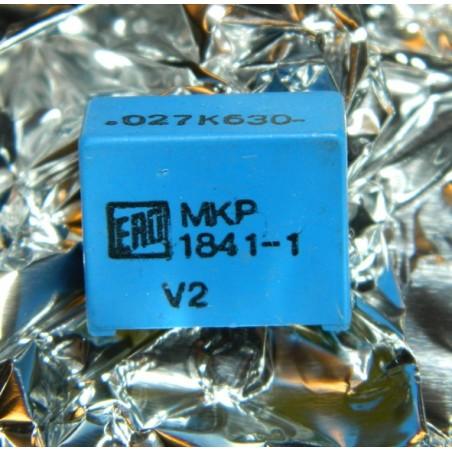 0.027µF 630V +/-5% ERO MKP
