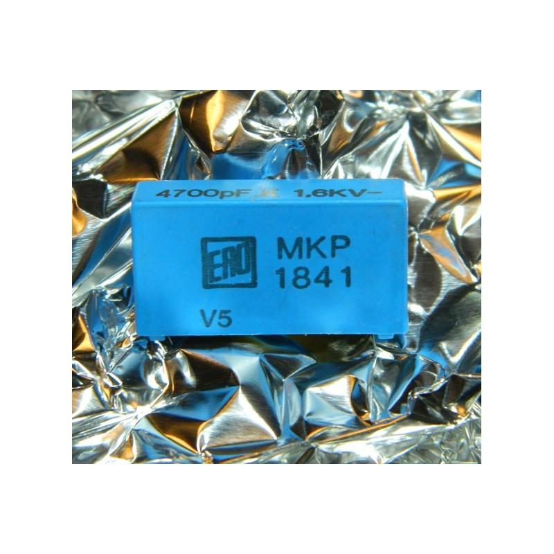 0.0047µF 1600V +/-5% ERO MKP