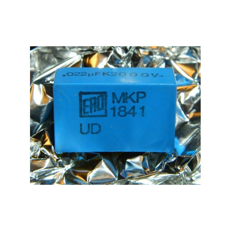 0.022µF 2000V +/-5% ERO MKP