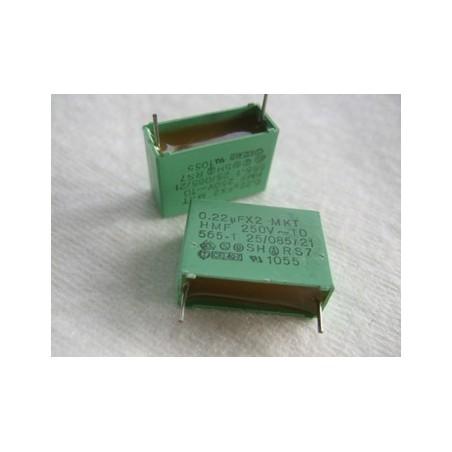 Condensateur X2-0.22µF 250V ~.ERO MKT