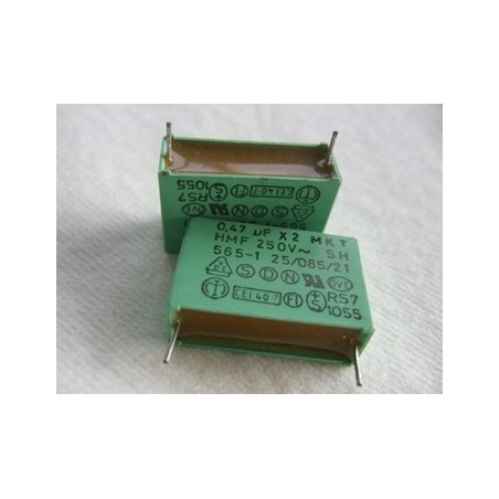 condensateur X2-  0.47µF 250V ~. ERO MKT