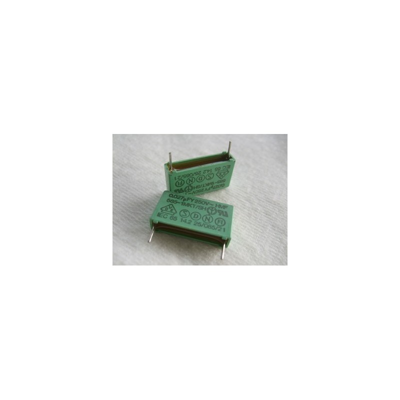 Condensateur X2-  0.027µF 250V ~. ERO MKT