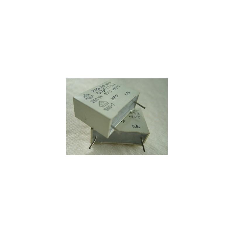 Condensateur X2-0.47 250v ~.ISKRA MKT