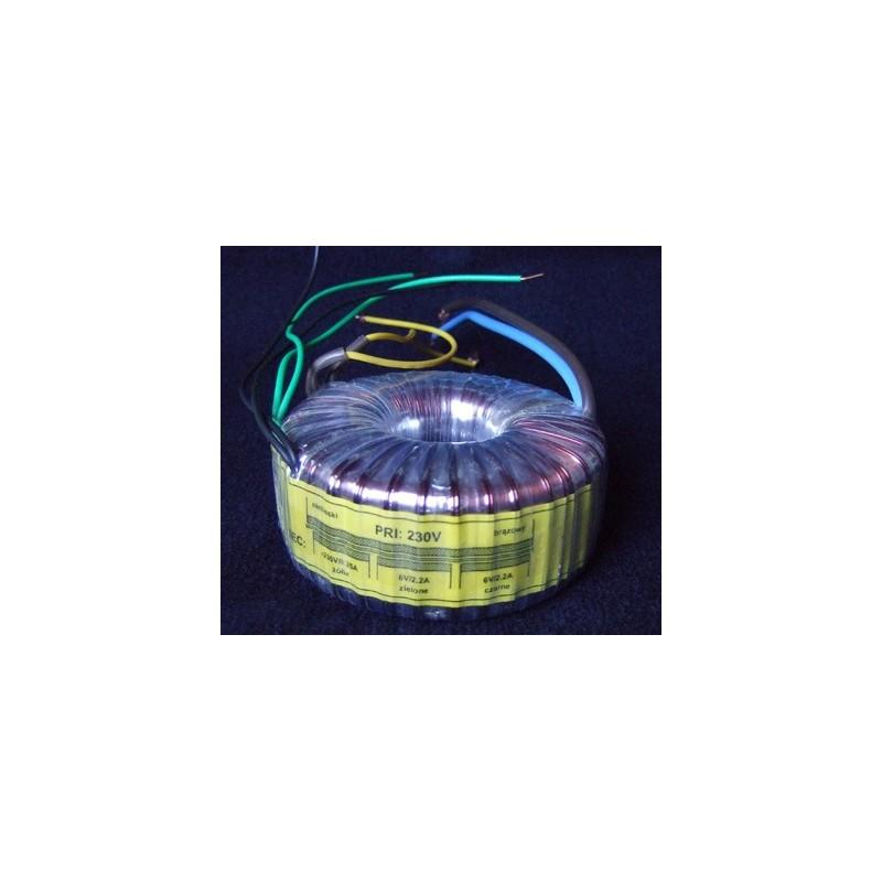 Transformateur torique 235-2x6volts